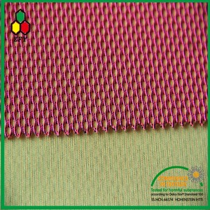 New design breathable non-toxic sandwich air mesh for shoes fabric with oeko-tex