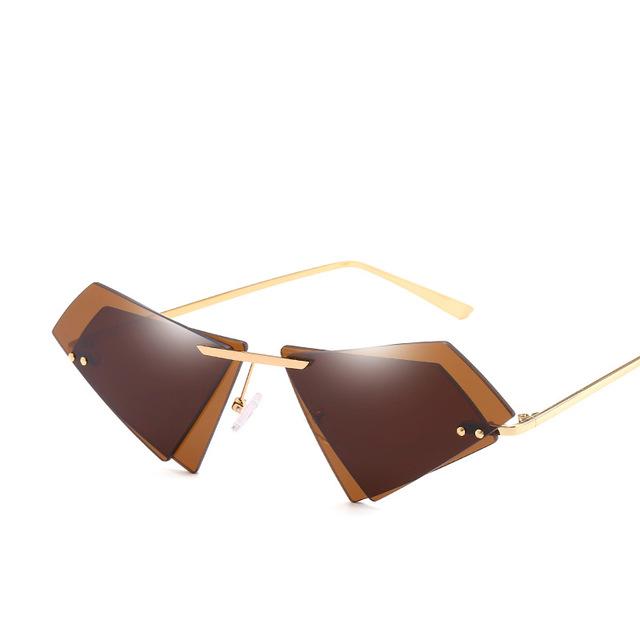e5fc4170a الشمس نظارات 2018 جديد أزياء معدن فرملس شخصية غير النظامية مزدوجة عدسة  uv400 النظارات الشمسية للرجال النساء SI780 5 كاليفورنيا--معرف ...