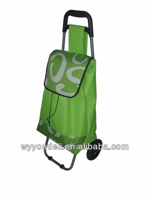 Wholesale fabric shopping trolley reusable folding shopping bags ...