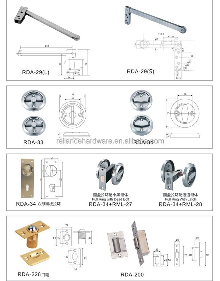Toilet Indicator With Brass Deadbolt Lock Bathroom
