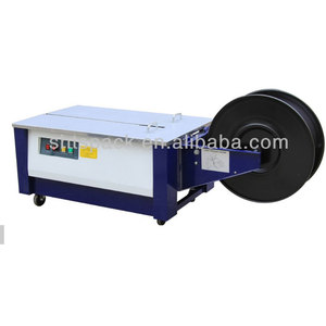 Shanghai Taoshan JK 740L semi auto carton strapping machine