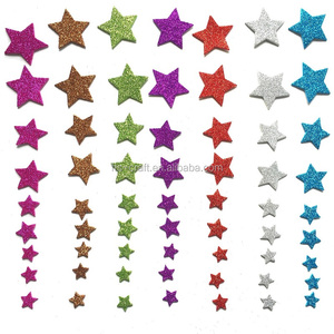 Factory Popular DIY Craft Glitter Star Glitter EVA Foam Stickers