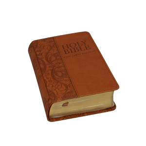Custom Tamil Bible The Covers With Pu Leather