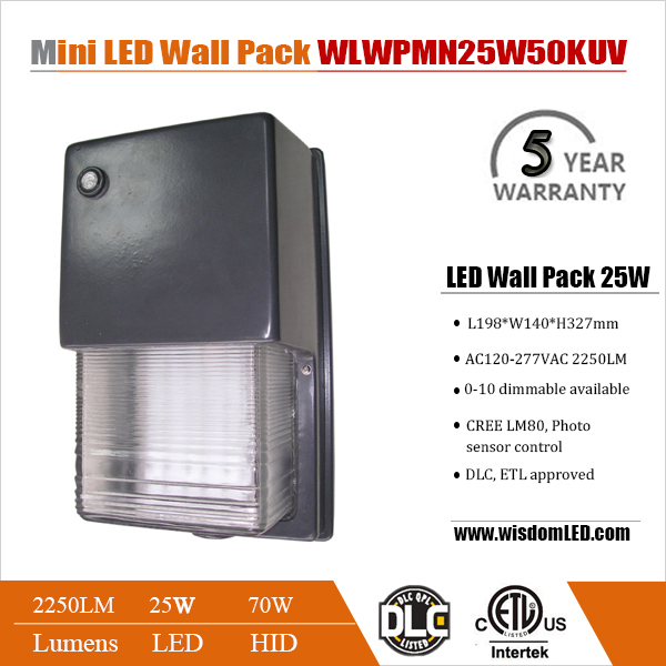 Easy To Install Aluminum Square Led Wallpack Ip65 Outdoor Led Wall ...