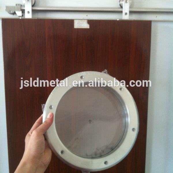 Circular de aceroinoxidable de ojo de buey de panel de visi n kits de acristalamiento para - Puertas ojo de buey precio ...