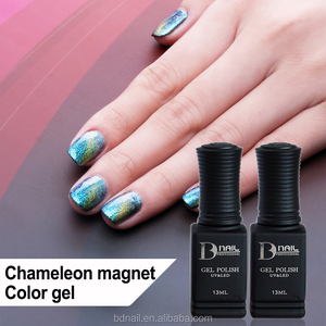 2017 Nice Cat Eye Chameleon Gel Polish,Soak off UV/LED Color Gel, Magnetic Nail Art Gel Varnish