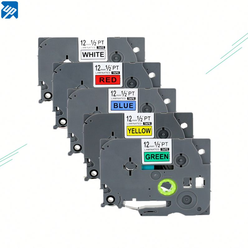 BROTHER 12mm COMPATIBLE WITH BLACK//WHITE TAPE TZ231 FOR P TOUCH PT PRINTER