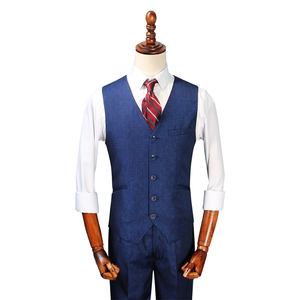 Men's Business Suit Vests Waistcoat Slim Fit For Suit or Tuxedo