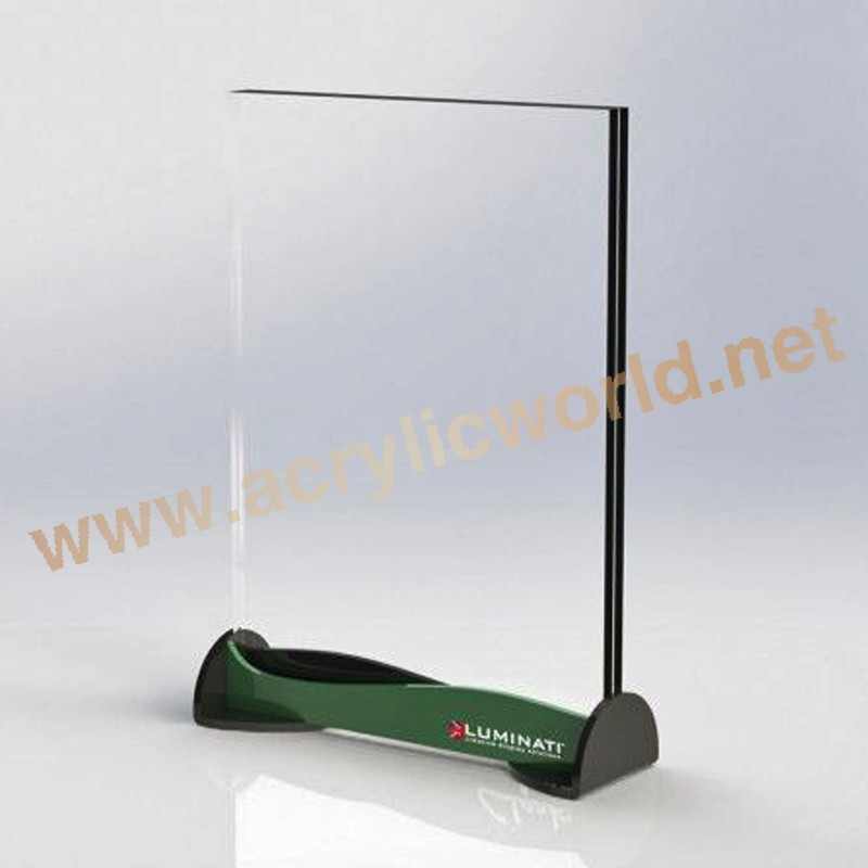 Outstanding Acrylic Brochure / Poser Holder Attached With Business ...