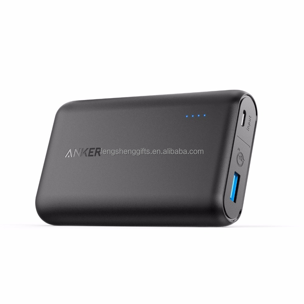 Anker 10000mah QC 3.0 Qualcomm Quick Charge 3.0 Portable Phone Charger Power Bank for Samsung, iPhone, iPad