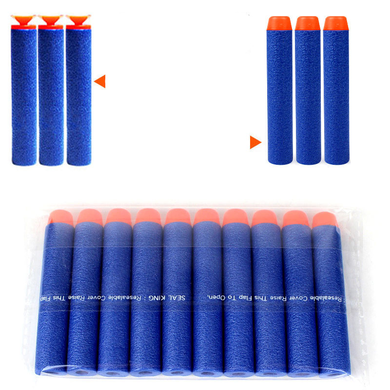 2015 Hot 1000pcs Nerf N-strike Elite Rampage/Retaliator Series Blasters Refill Clip Darts electric toy gun soft nerf bullet