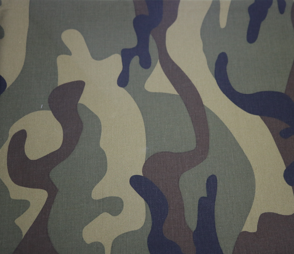 Cotton/ Polyester Camouflage Twill Fabric for jackets