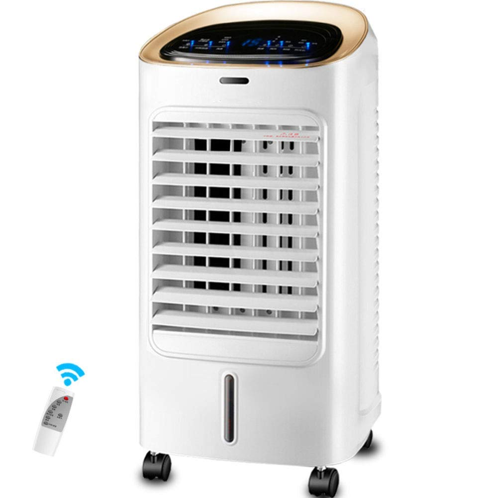 LIUSHIJITUAN Mini Air Conditioner Fan,Household Cold Fan Single-Cold Lightweight Small air Conditioner Timing Air Cooler-B 75x30cm(30x12inch)