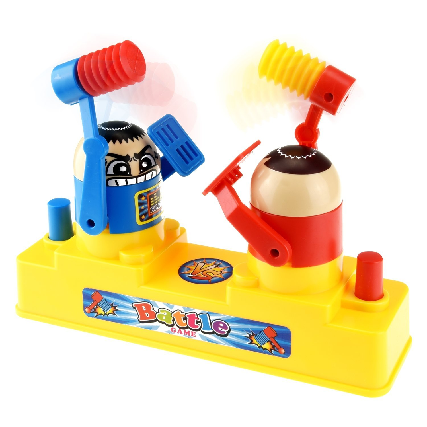 FAVTOY ISLAND - Mini Classic Arcade Hammer Battle Action Tabletop Game for Two Players