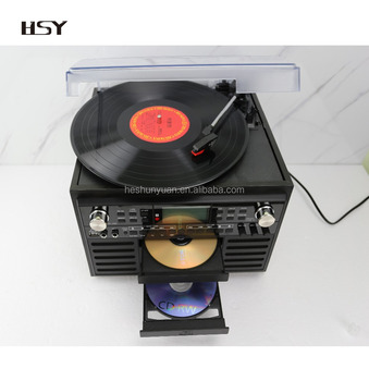 Electro Home Vinyl Record Player 9 in 1 Classic Music system