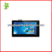 7 inch allwinner A13 android 4.0 capacitive tablet pc