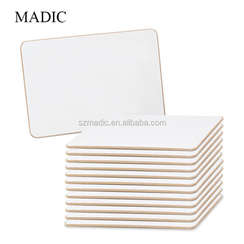 Bulletin Boards Double Side Non Magnetic Writing Board Notice Lapboards For Kids