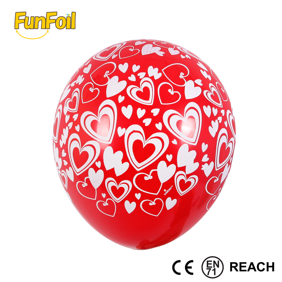 Guangzhou DHL shipping Customized love theme red high quality printed wedding balloons