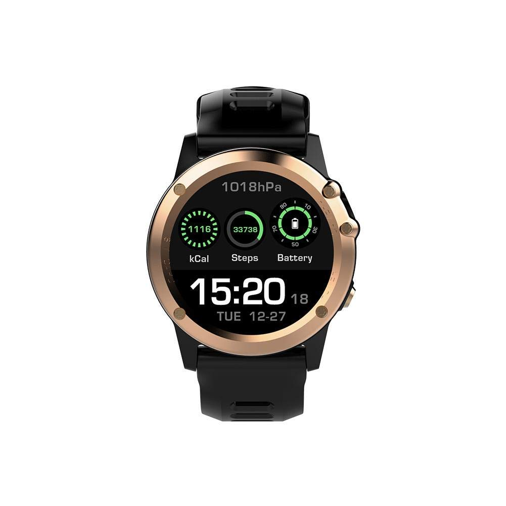 Microwear H1 3G Smart Watch, 1.39 inch IP68 Waterproof 2.0MP Camera Smart Sport Watch, Android 4.4 MTK6572 Dual Core 1.2GHz 4GB ROM Pedometer