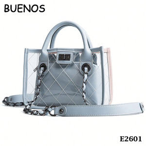 Women Fashion Shopping PVC Bags Set Girl 2018 New Handbags In Handbags