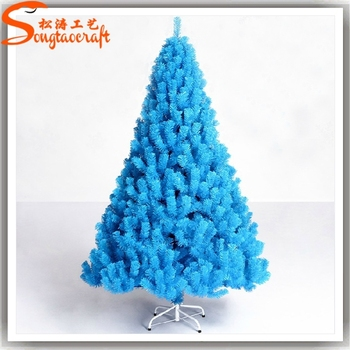photos xmas trees decorated with material