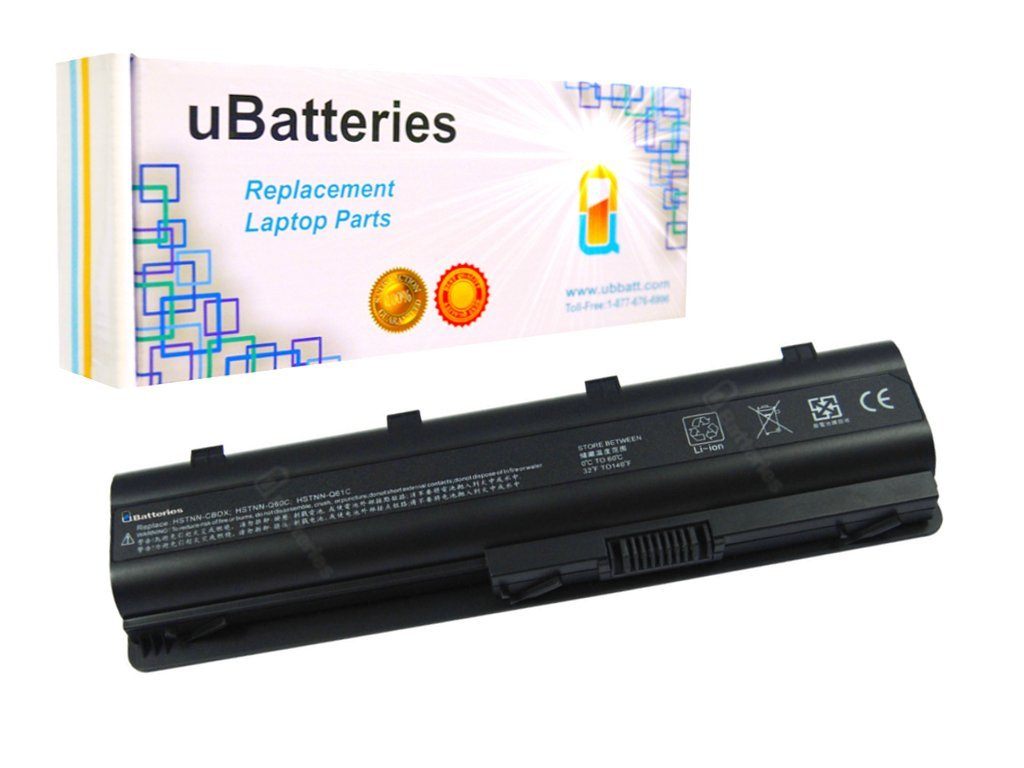 UBatteries Laptop Battery HP Pavilion dv7-6195us dv7-6197ca dv7-6199us dv7t-4000 dv7t-4100 dv7t-5000 dv7t-6000 dv7t-6100 - 8800mAh, 12 Cell