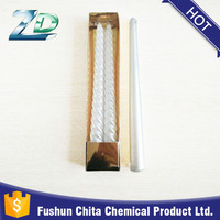 high quality paraffin wax unscented stick white candle for home lighting