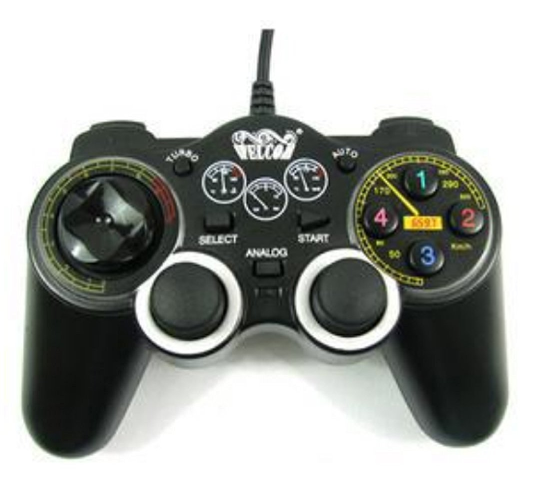 Wired USB Game Controller Vibration Joystick Dual Vibration Shock Gamepad For Laptop PC