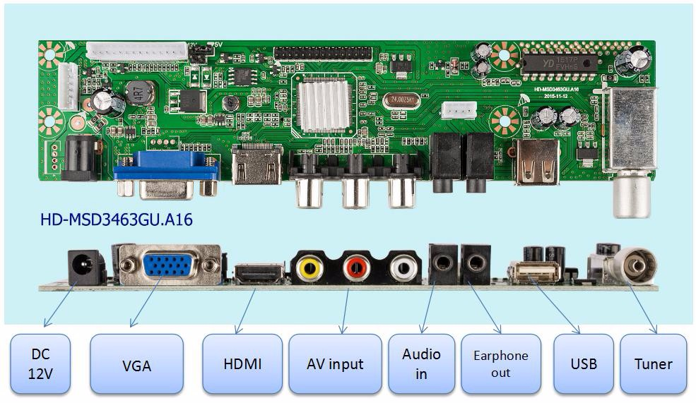 China Manufacture product LCD LED TV DVB-T2 Pcb Board Pcba, View Pcba  Manufacture, HD Product Details from Guangzhou Hongdi Electrical Technology  Co ,