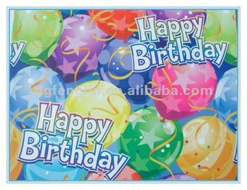 Dongguan Printed Wrapping Paper For Birthday Gifts