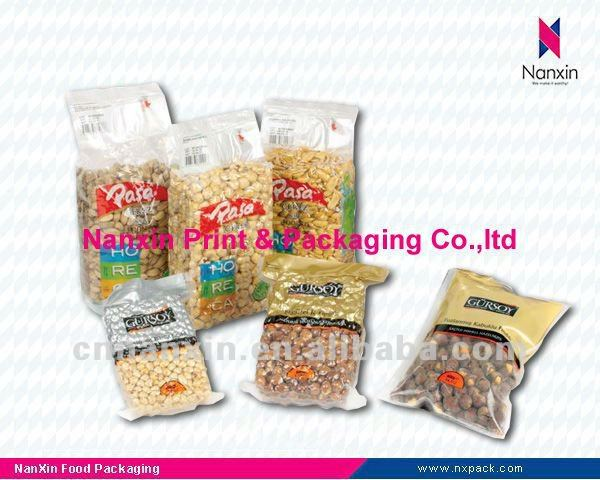 Food vacuum plastic packaging bag - peanut packaging