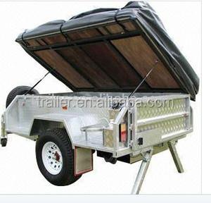 covered camper trailer