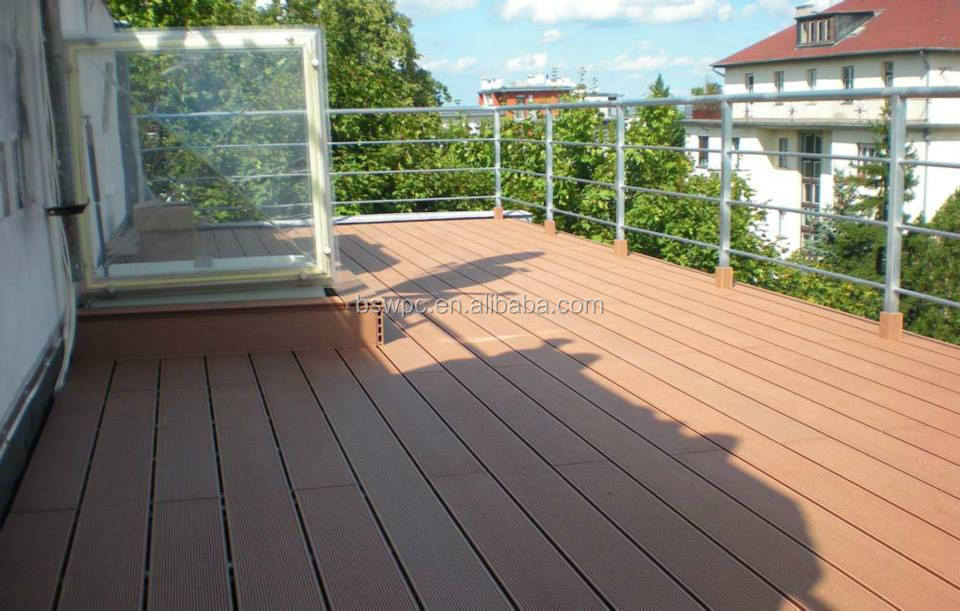 crack-resistant wpc decking outdoor deck