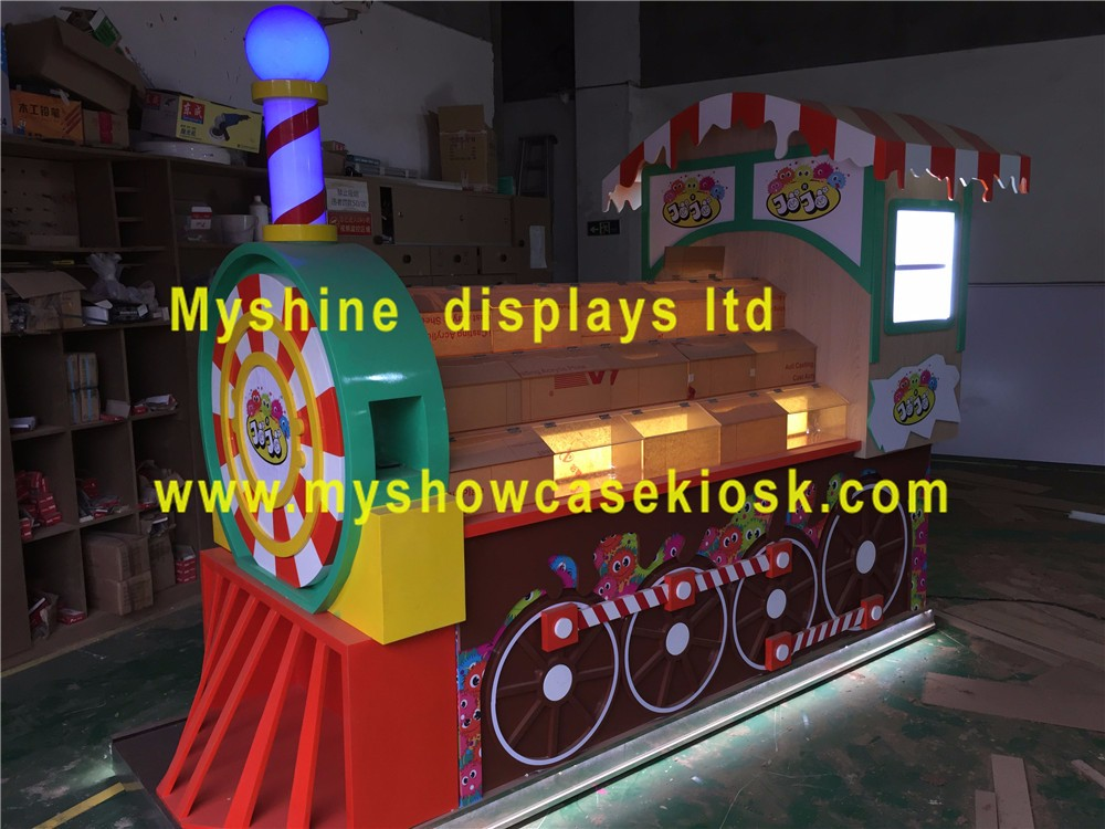 Modern candy kiosk / candy display cart / candy display cabinet