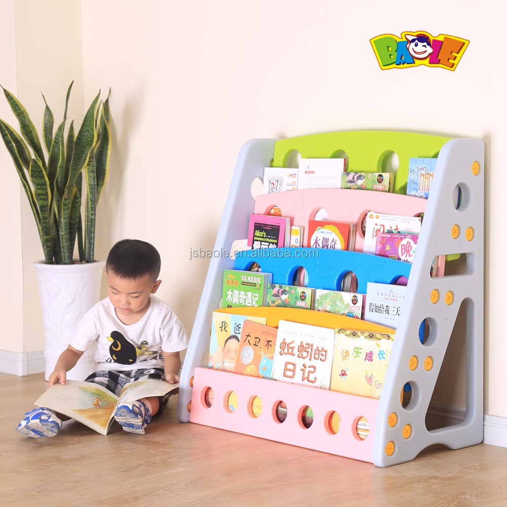 New Design Child Bookshelf Kindergarten Book Cabinet Furniture
