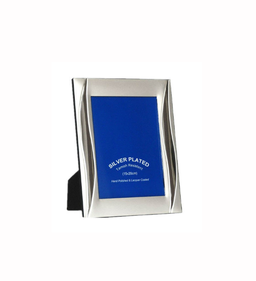 Silver plated photo frame zinc alloy photo frame adult photo frame