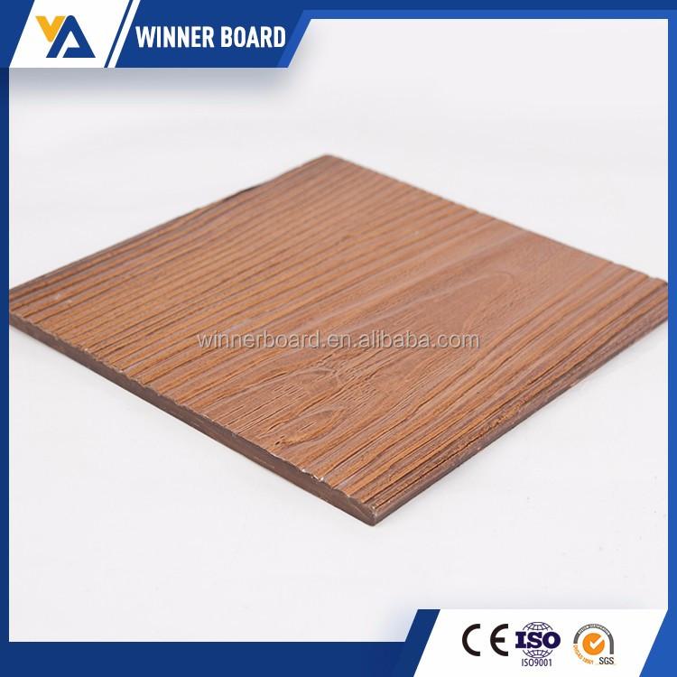 Eco friendly modern waterproof fireproof panels fiber