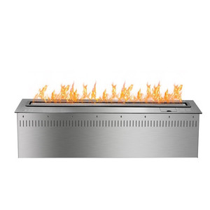 inno fire 48 inch intelligent stainless steel remote control ethanol ecological fireplace
