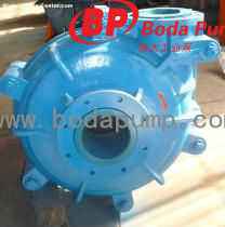 Rubber liner centrifugal slurry pumps