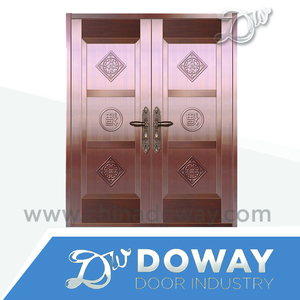 China Real Brass Double Swing Door