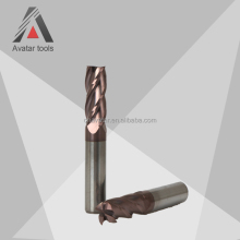 solid carbide pvc end milling cutter