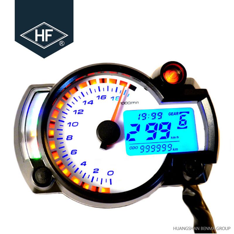 Custom Oem 7 Color Motorcycle Speedometer Tachometer Rpm