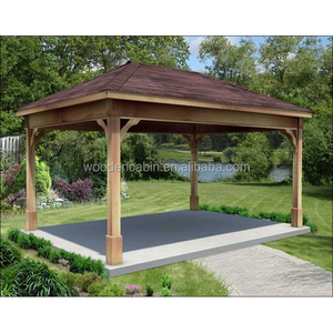 Professional Supply Lowest Price Cheap Wooden Gazebos For Promotion