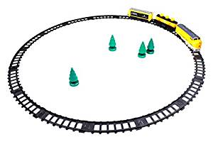 Little Treasures Sleek Cargo Train Rumbles Down the Tracks Choo Choo Watch Your Child Be A Imaginary Conductor Great Toy Play Set this Amazing Steam Engine Train Makes A Great Gift for Children