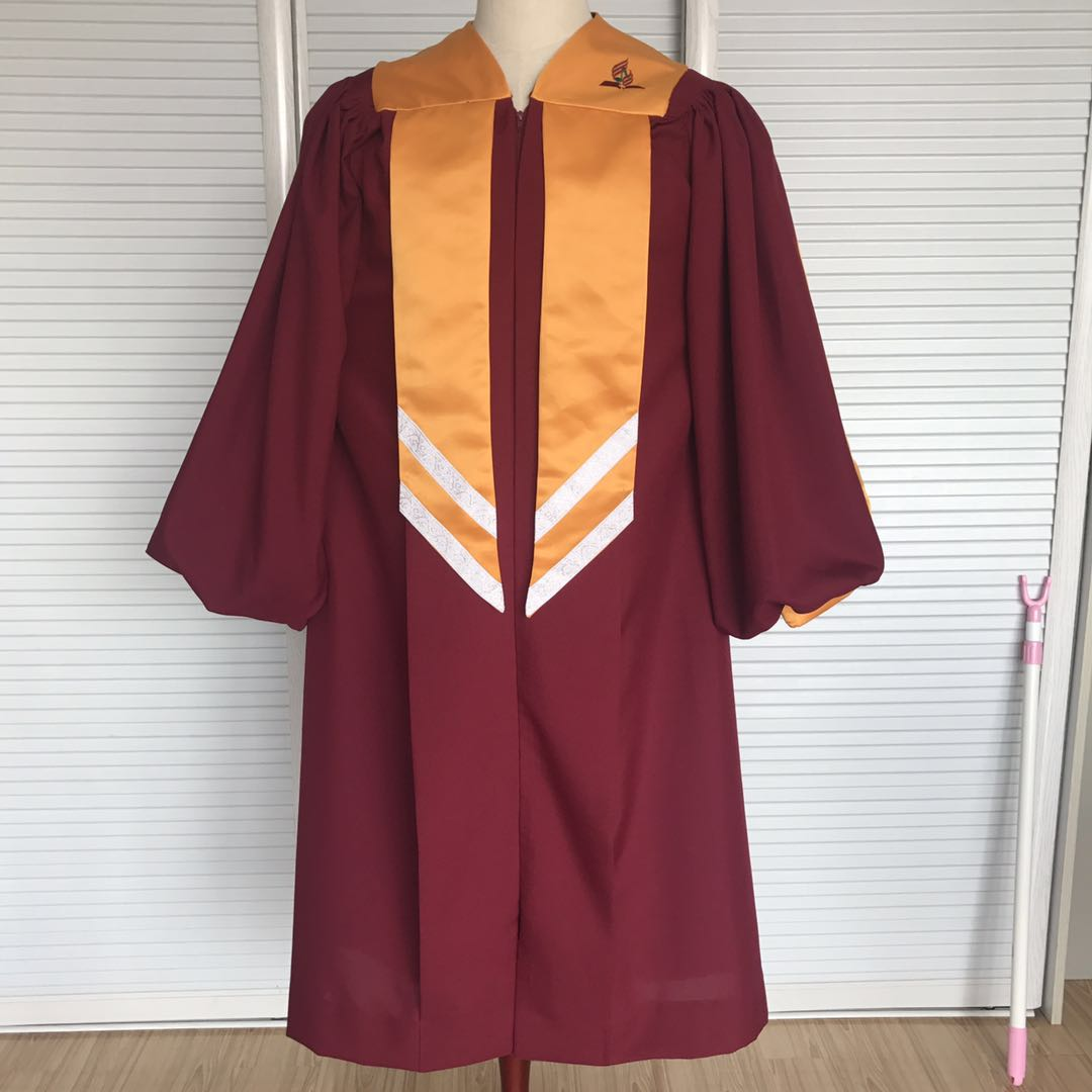 Church Catholic Vibrant Choir Robe Contemporary Wine Red Choir Robe Buy Choir Robe Church Choir Robe Church Choir Gowns Product On Alibaba Com