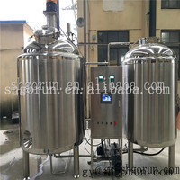 250 Gallon Stainless Steel Mixing Tanks With Casters For Food Processing,Steam Heating