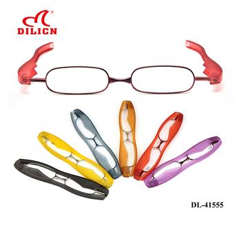 075250bbe3 Fácil De Llevar Tamaño Pequeño Italia Diseño Ce Gafas De Lectura ...