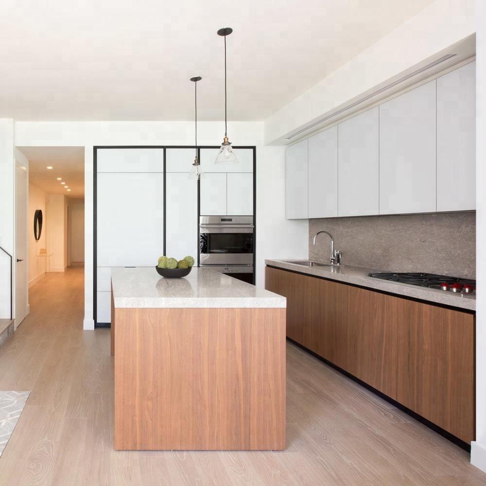 India Simple Free Standing Kitchen Design Melamine Modern Modular Kitchen  Cabinets Set For Apartment - Buy Melamine Kitchen Cabinet,India Simple ...