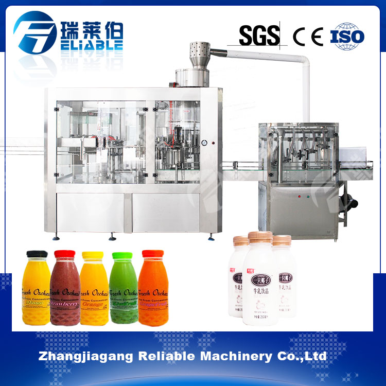 Bottle Filling Capping Machine For Coconut Water / Vitamin Juice