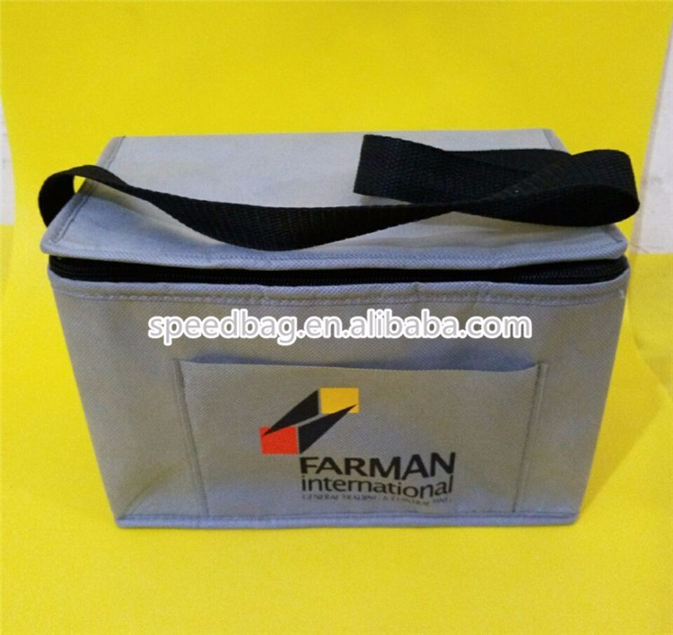 yiwu factory custom recycle non woven cooler food bag outdoor thermal picnic bag